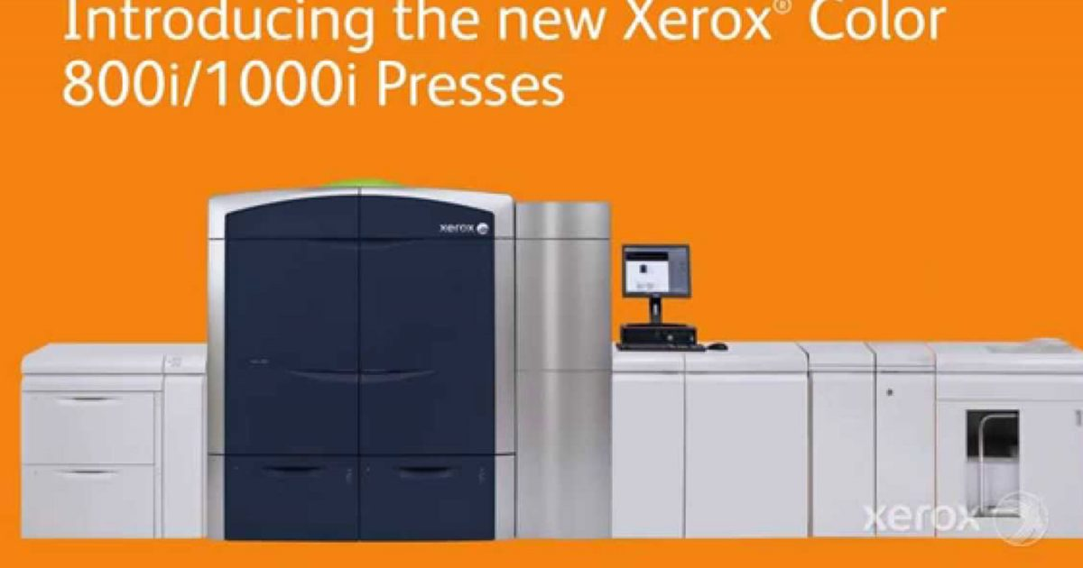xerox docline copieurs-Docline-Xerox-Presse-color-800i