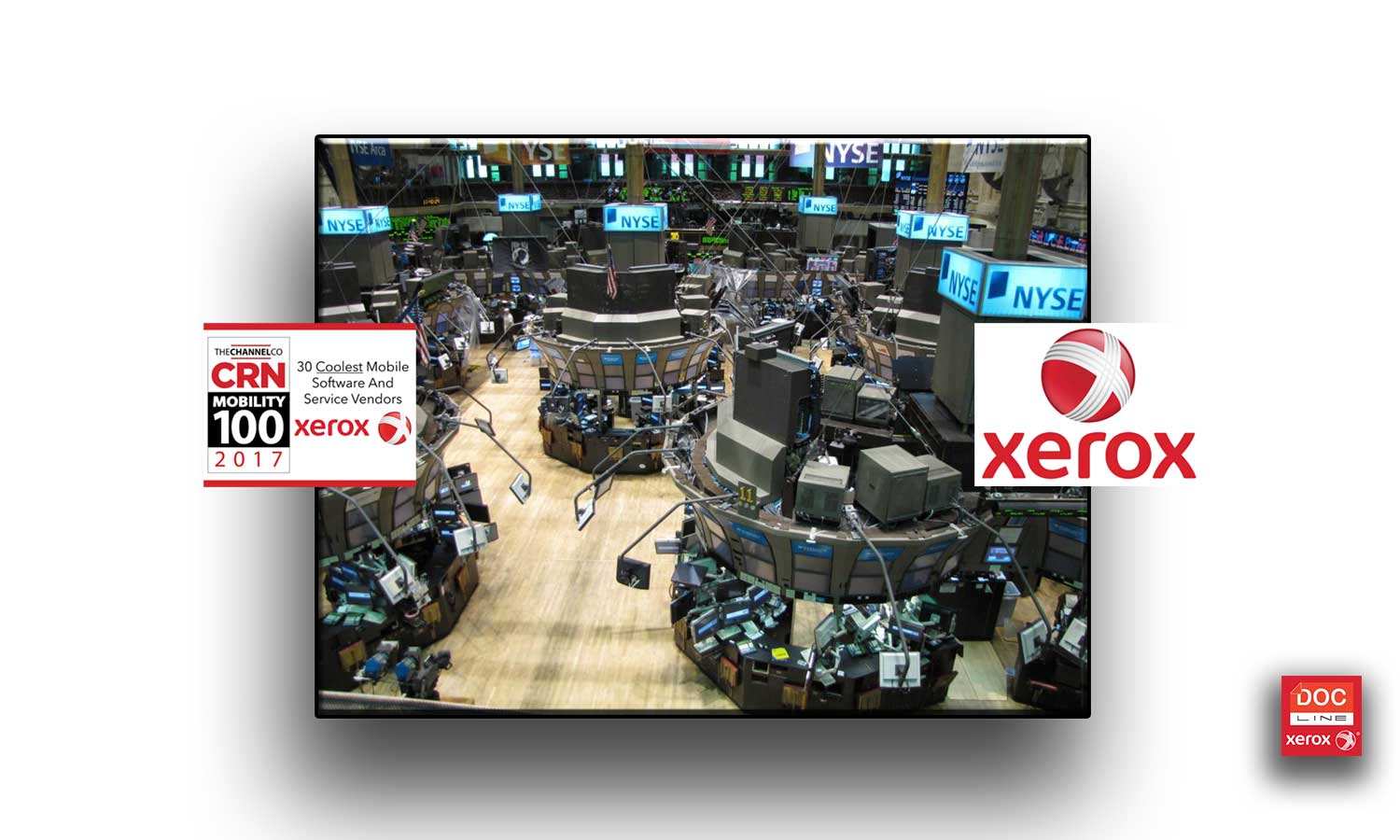 xerox docline solutions-bourse-xerox-actions-dividendes